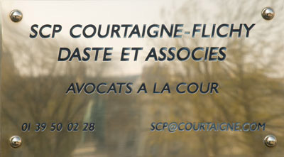 SCP Courtaigne-Flichy Daste et Associés